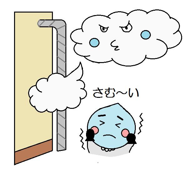 風当たりの強い場所