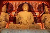 上淀白鳳の丘展示館の仏像の写真
