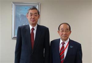 野坂市長が在中華人民共和国日本...