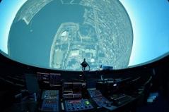 デジタル映像投映 児童文化センター上空